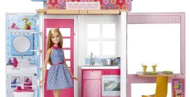 Juguete de barbie