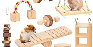 juguetes para hamsters